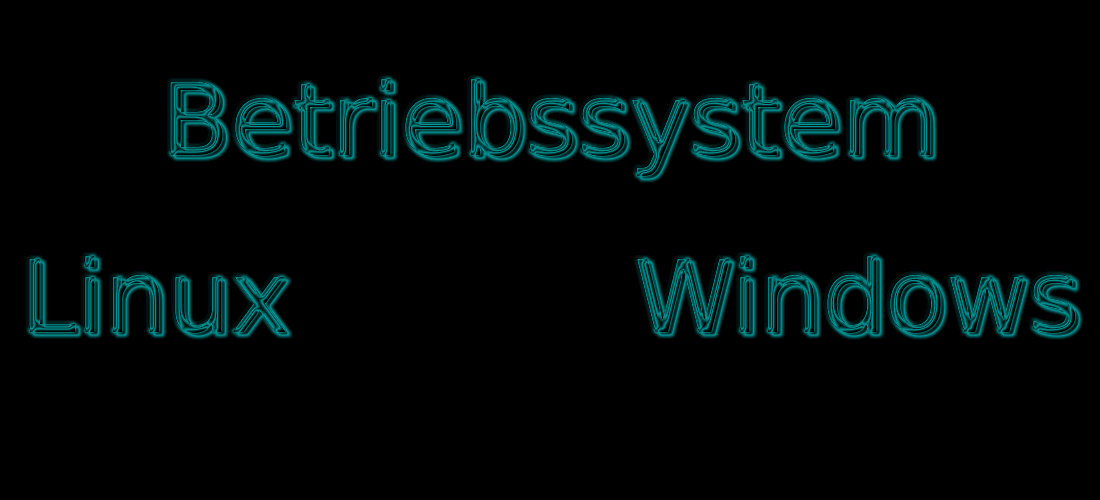 Computer Betriebssysteme Windows & Linux