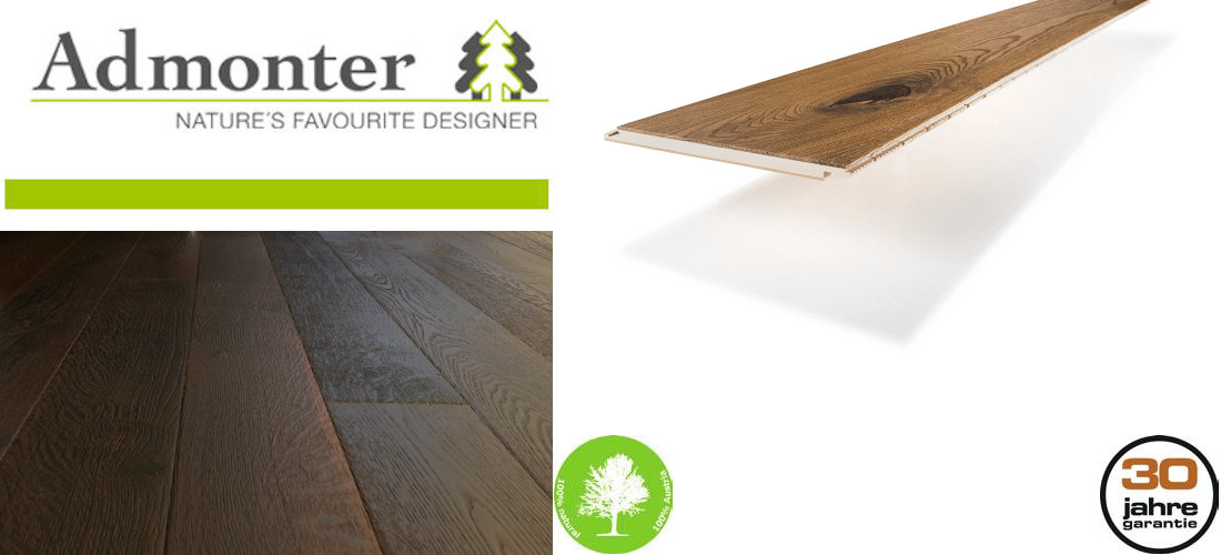Admonter FLOORs Parkett - 100% Made in Austria