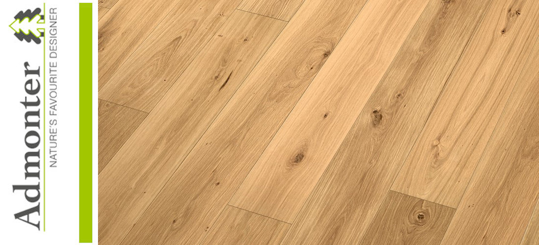 Admonter FLOORs Landhausdielen Eiche classic  basic geschliffen natur geölt - Made in Austria