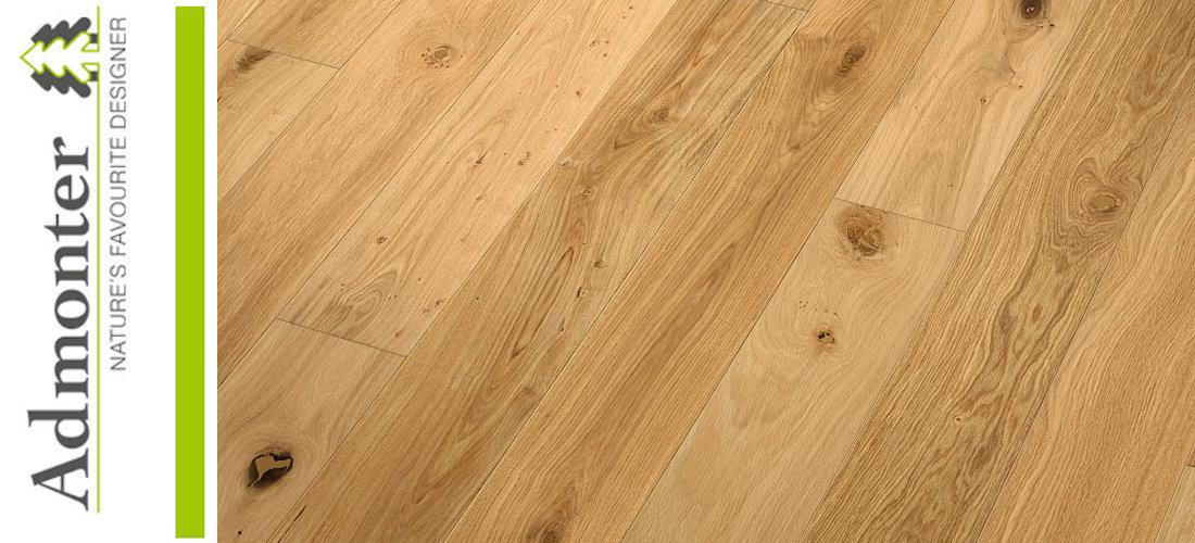 Admonter FLOORs Landhausdielen Eiche classic  naturelle gebürstet matt lackiert - Made in Austria